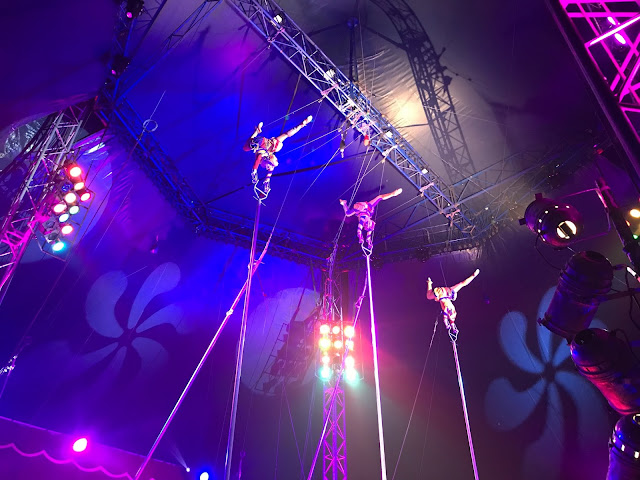 Moscow State Circus stunt