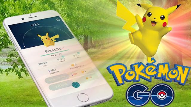 Cara Mudah Memburu Pikachu di Pokemon Go
