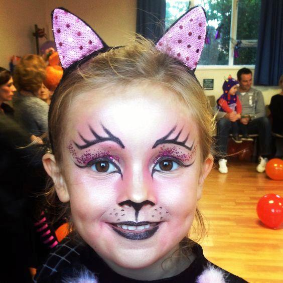 halloween makeup kids cat face - Halloween Makeup For Cat Face