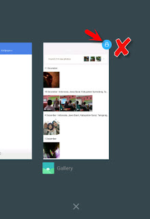 menghilangkan icon gembok di apliksi recent apps xiaomi