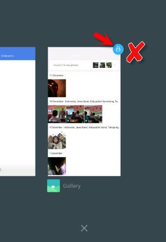 Cara Menghilangkan Icon Gembok Di Recent App Xiaomi