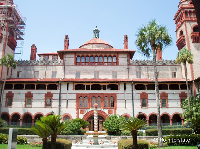 48 No Interstate: Our Favorite Highways:  US 1 - Flagler College, St. Augustine, FL