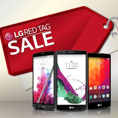 LG Red Tag Sale