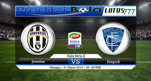 Prediksi Juventus vs Empoli Tanggal 31 Maret 2019