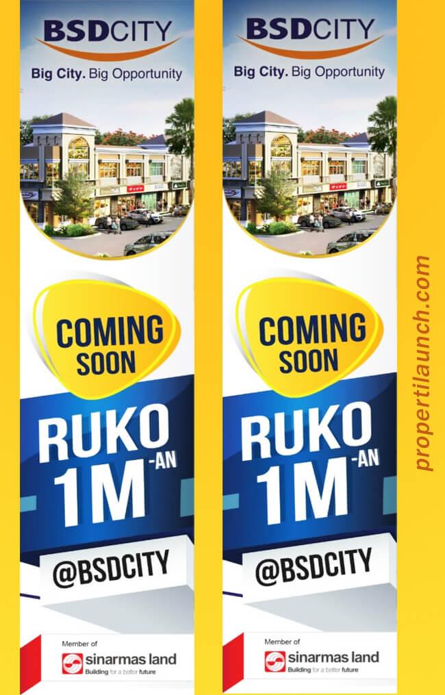 Dijual Ruko Savia BSD harga Rp. 1 miliaran