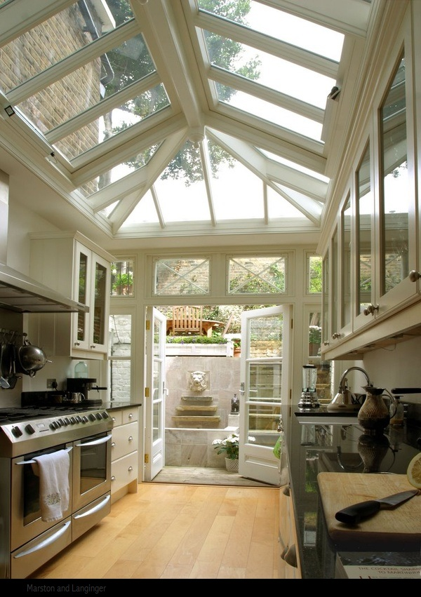 18+ Ingenious Kitchen Conservatory That Provide The Perfect Escape