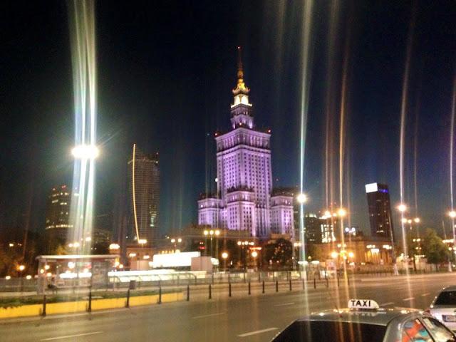 Maj spędzony w Warszawie