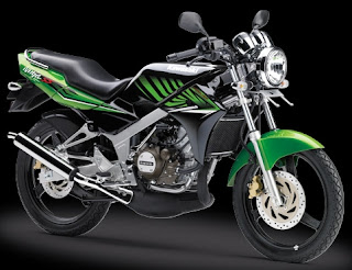 Gambar harga motor sport Kawasaki ninja 150 ss