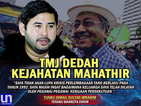 TMJ Dedahkan Siapa Sebenarnya Yang Tidak Disukai Sultan Johor