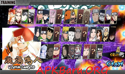 Naruto Senki Storm 4 Shinobi Legends All Mod Apk Terbaru