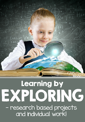Learning by exploring topics with research based units - so much fun! Free research unit found on the blog! :-)