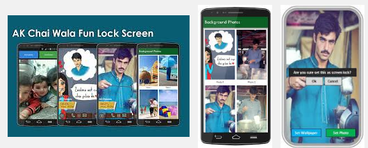 Chaiwala Lock Screen Latest V1.0 Apk for Android Free Download