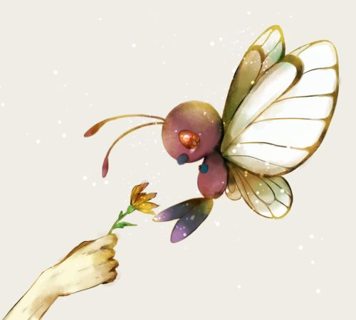 cutest pokemon Butterfree 2