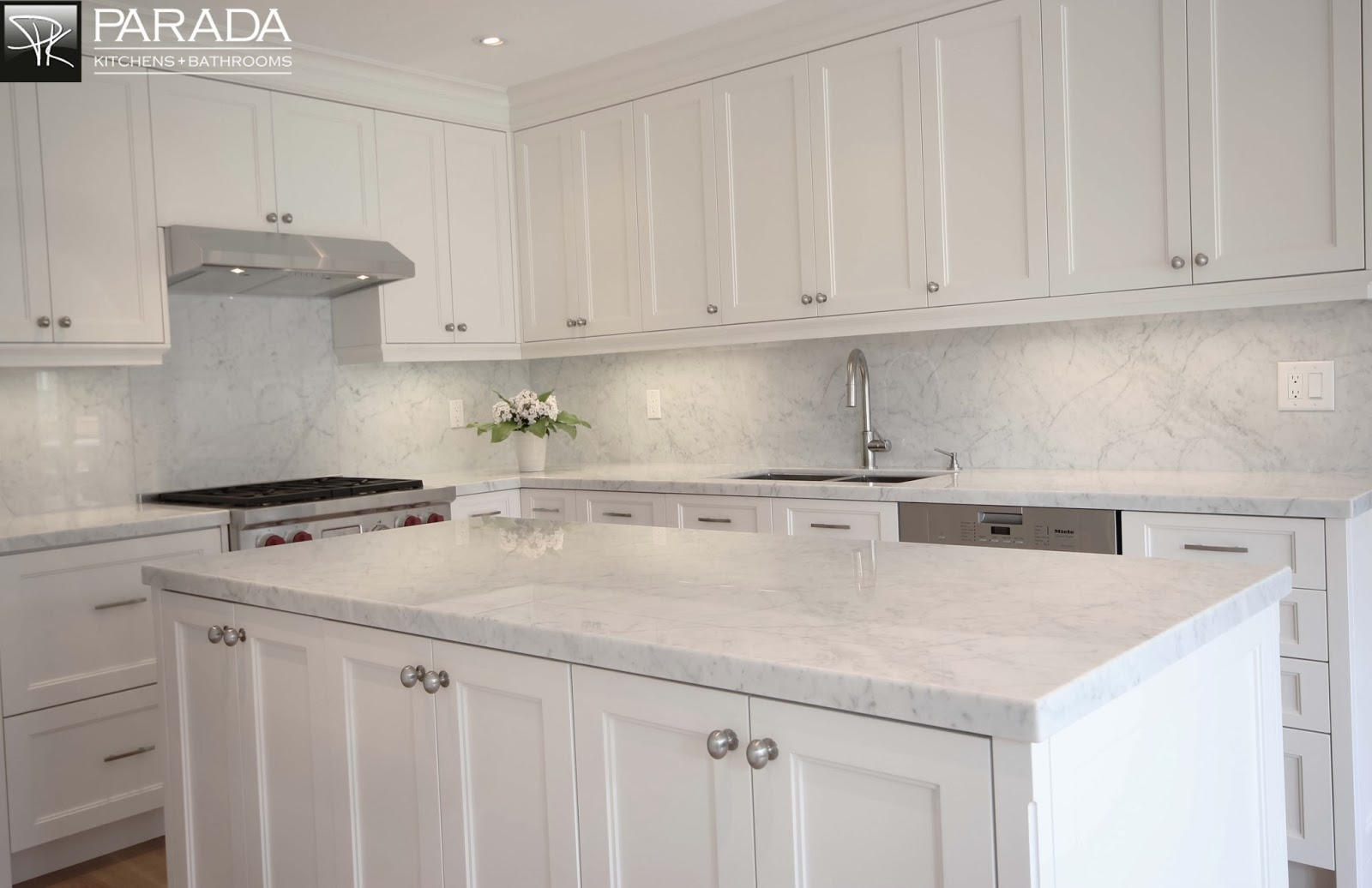 All White Kitchen C.b.i.dhome Decor And Design Non Sterile Kitchens