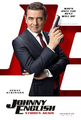 Johnny English Strikes Again Movie Poster 2