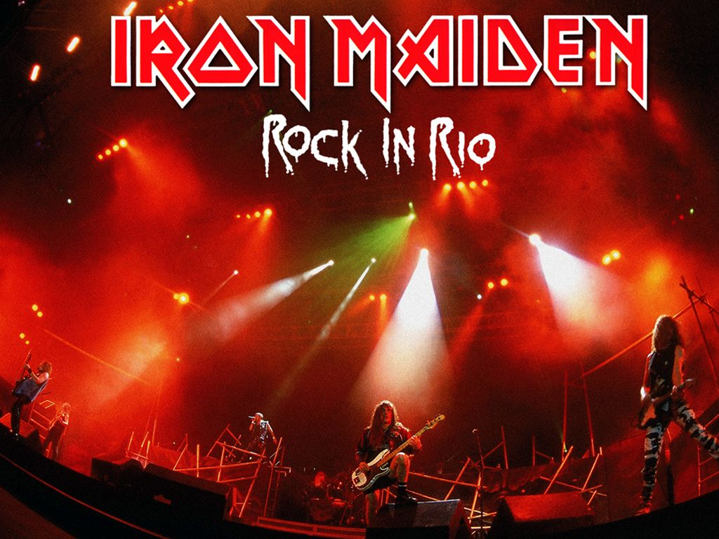 Rock And Roll Download Iron Maiden Rock In Rio 2001 Hd