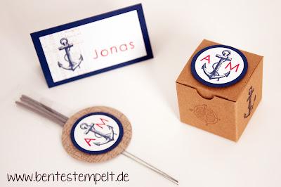stampin up einladung hochzeit maritim the open sea Geschenk Gäste Wunderkerzen