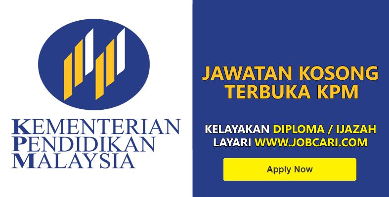 Jawatan Kosong di Kementerian Pendidikan Malaysia KPM