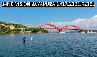 top tv jayapura indovision oke tv okevision k-vision indihome wifi papua