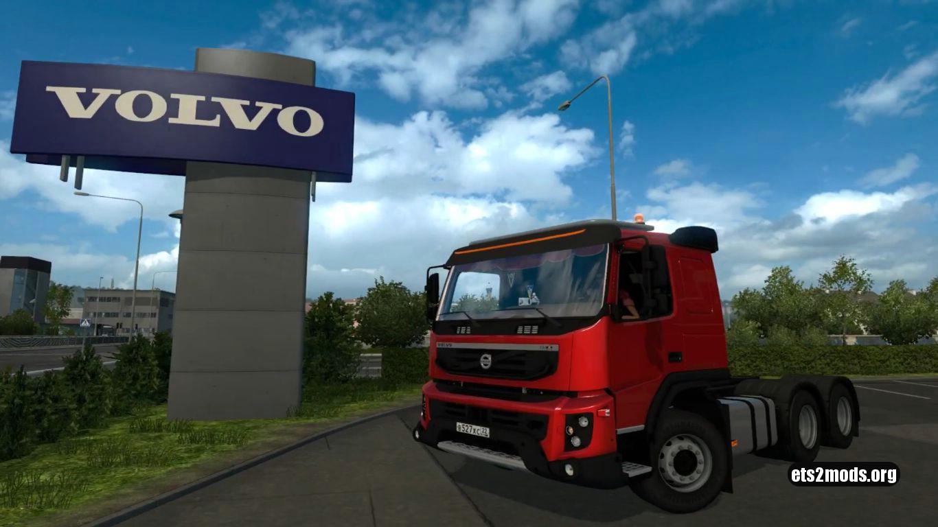 Truck – Volvo FMX 540 V 2