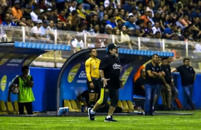 Maradona to leave Dorados over 'referee bias'