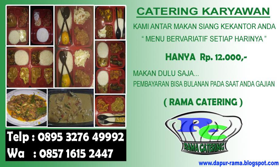 CATERING KARYAWAN | RAMA CATERING
