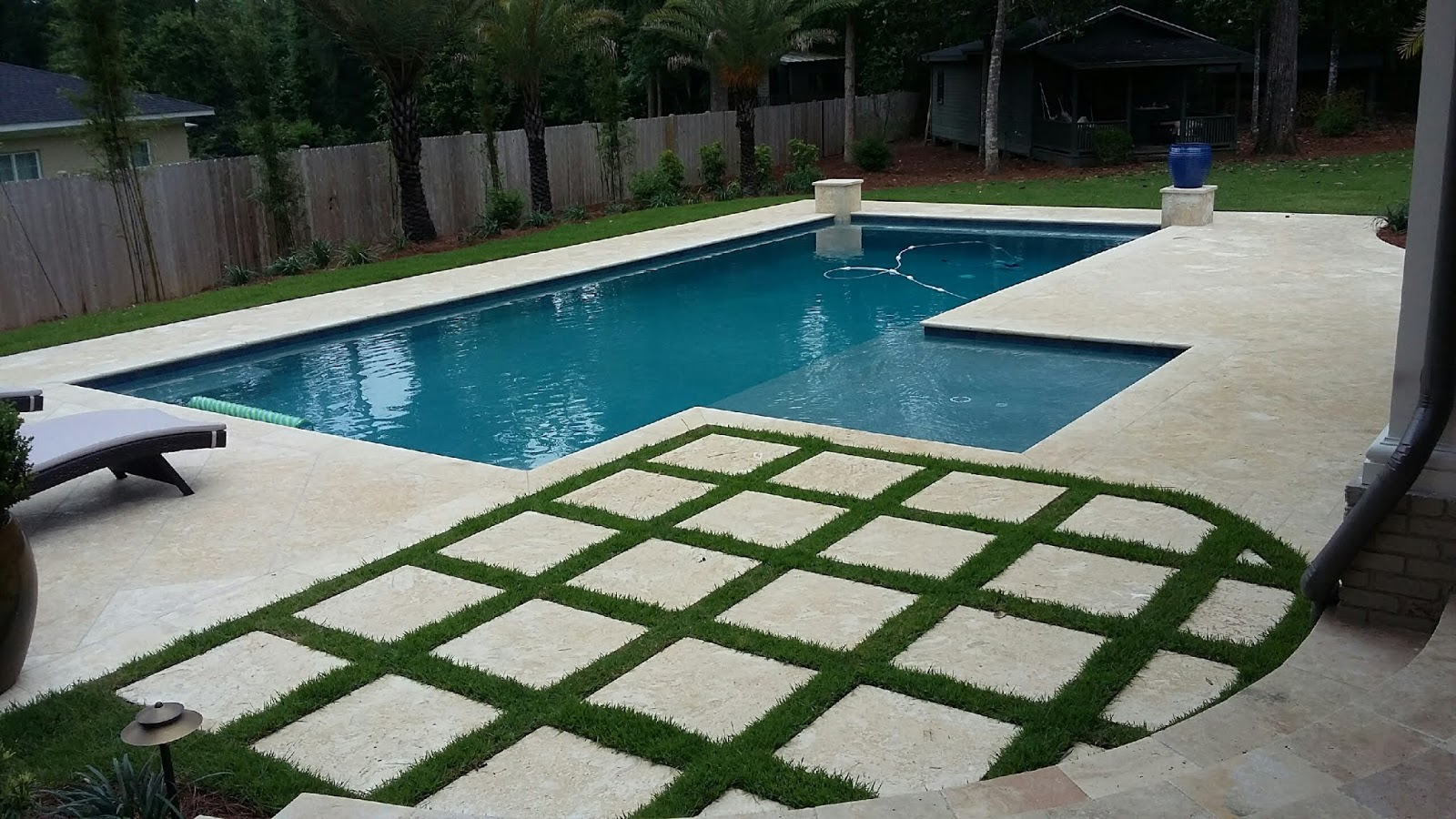 coral stone tiles pool decks and stone