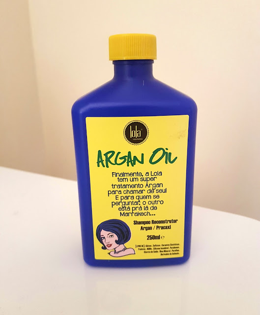 resenha do shampoo low poo lola argan oil
