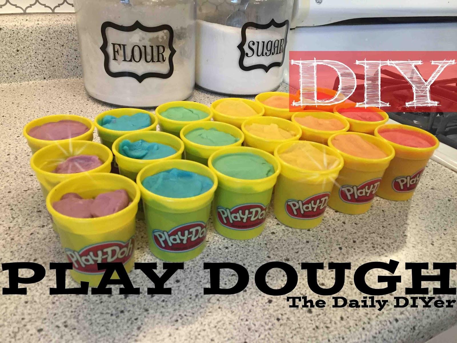 The Daily Diyer Diy Play Dough