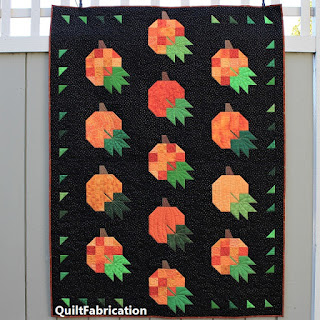 Pumpkin Harvest by QuiltFabrication
