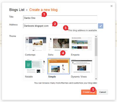 Membuat Title atau Judul Blog