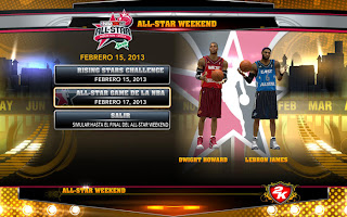 NBA 2K13 All Star 2012 Jersey Patch