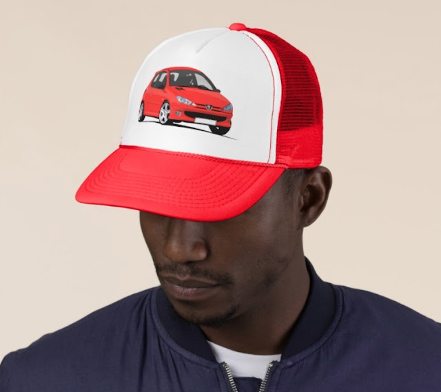 Peugeot 206 RC trucker hat