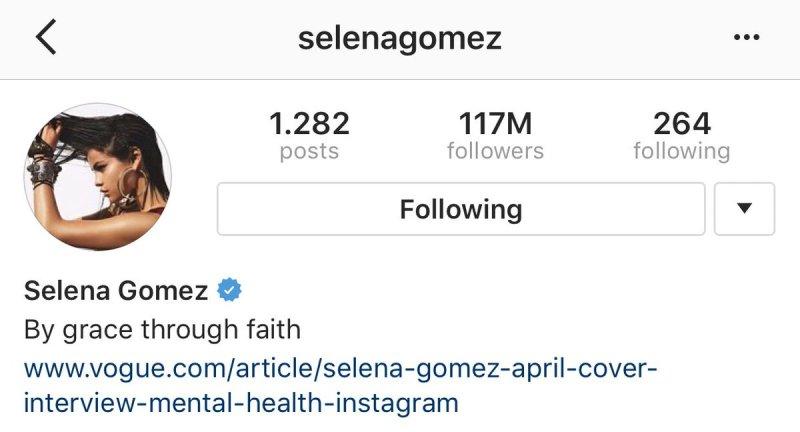Selena Gomez rompe su propio récord en Instagram