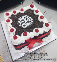 Blackforest Cake Kotak Birthday Cake