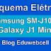 Esquema Elétrico Samsung SM-J105B J1 Mini - Manual de Serviço