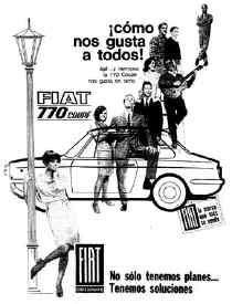 CLASICOS: FIAT 770 COUPE
