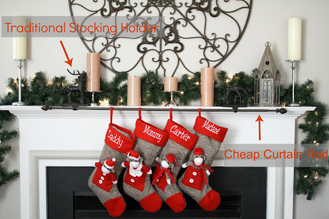 I Love You More Than Carrots Christmas Stocking Hanging