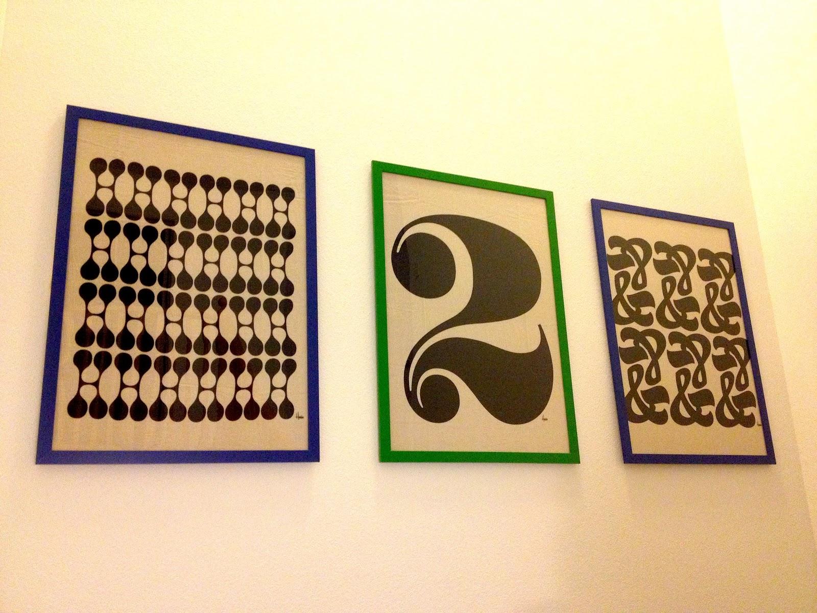 inspired whims framed tea towel art