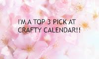 In de top 3 bij Crafty Calendar!