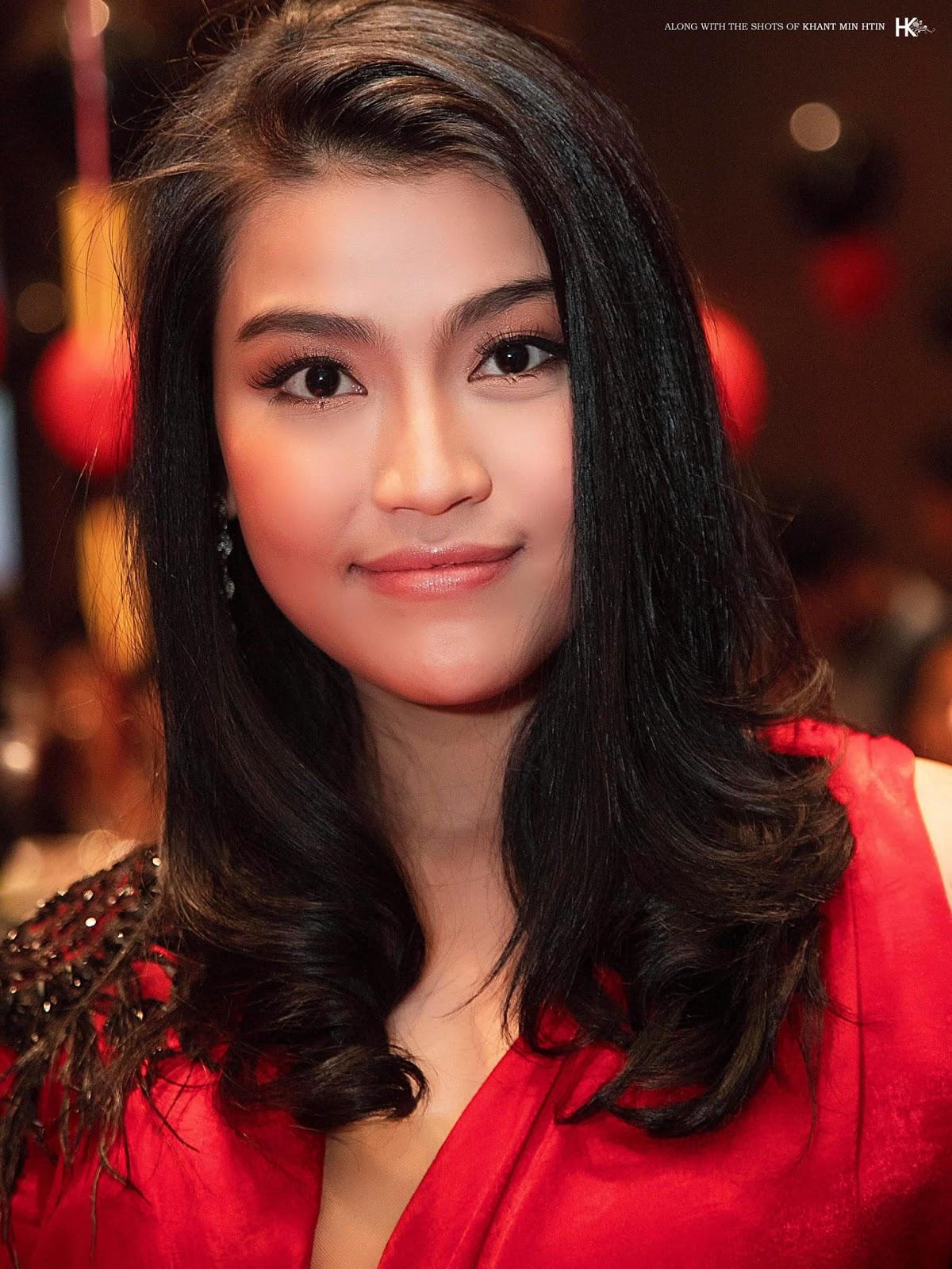 Happy Birthday Ei Chaw Po : Photos from Her Birthday Party