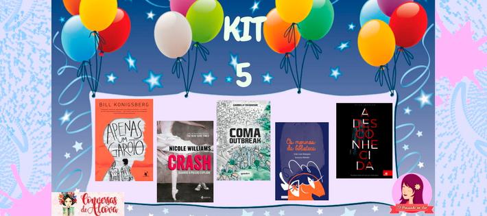 Sorteio: Concorra a 21 livros