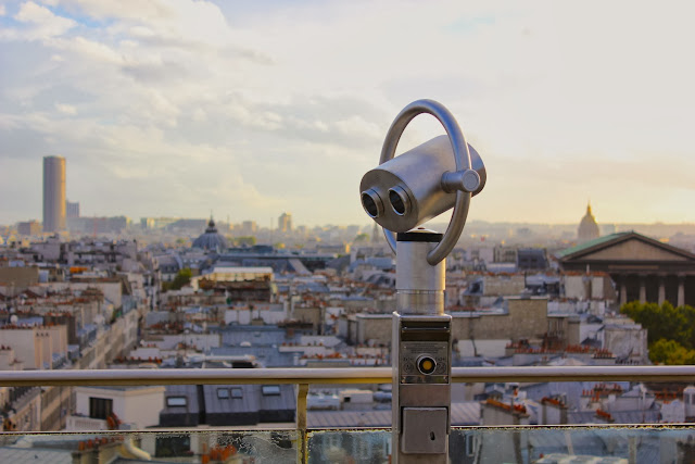 La meraviglia di Parigi dalla terrazza di Printemps - Foto di Elisa Chisana Hoshi