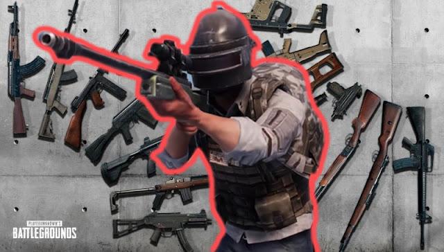 Daftar Lengkap Senjata PUBG Mobile