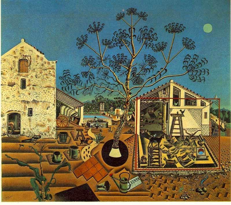 A Fazenda - Miró, Joan e suas principais pinturas