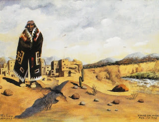 'Indio de Taos', una pinturita...de don Florencio Molina Campos
