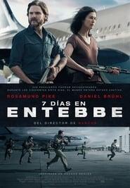 7 días en Entebbe (2018) Película Completa latino hd