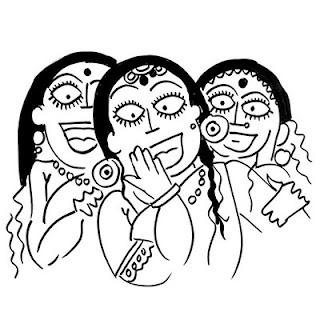 हँसने वाली औरतों को शापित होना पड़ता है