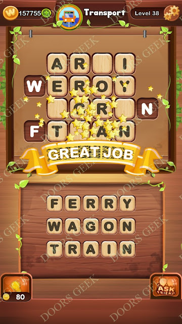Word Bright Level 38 Answers, Cheats, Solutions, Walkthrough for android, iphone, ipad and ipod