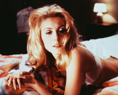 catherine deneuve in belle de jour, directed by luis bunuel, surrealistic film